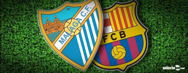 Apuesta Liga BBVA: Malaga CF vs FCBarcelona