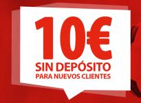 10€ Sin deposito desde nuestro enlace de TAP!!!