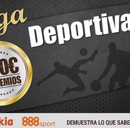 Prueba nuestra bookie Liga Deportiva y te damos 100 puntos para jugar GRATIS