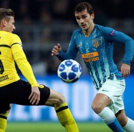 UCL: Atlético vs Borussia Dortmund