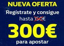 ¡¡OFERTA ESPECIAL LIMITADA!! Bono hasta 300€ y te regalamos además 20€
